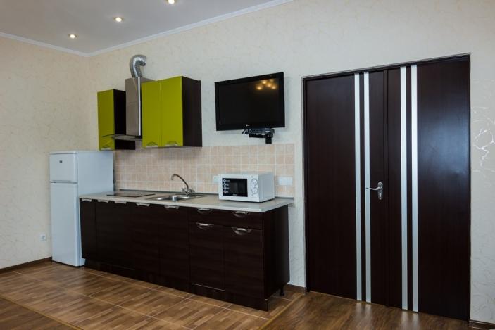 VIP коттедж двухкомнатный с кухней